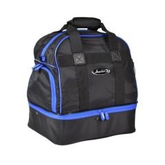 Henselite Bowls Bag: Model H557 Black with Blue Trim