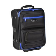 Henselite Bowls Bag: Model HT801 Black with Blue Trim