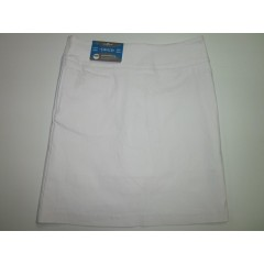 Sport Leisure Ladies Stretch Skort White - SLB093