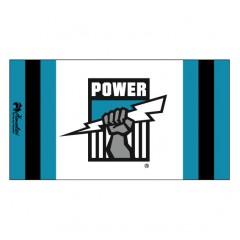 Henselite AFL Dri Tec Towel - Port Adelaide