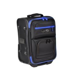 Henselite Bowls Bag: Model HT651 Black with Blue Trim