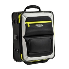 Henselite Bowls Bag: Model HT801 Black/Grey/Citron